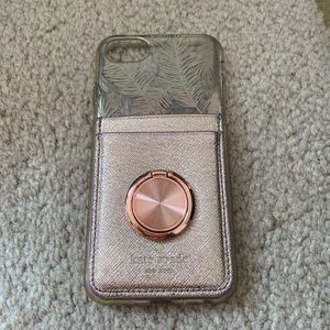 iPhone 7 case with Kate spade card holder